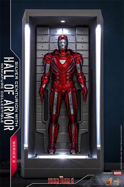 ムービー・マスターピース COMPACT『アイアンマン3』 アイアンマン・マーク33(シルバー・センチュリオン)[ホットトイズ]《06月仮予約》