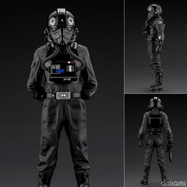 ARTFX+ スター・ウォーズ/新たなる希望 タイ・ファイター・パイロット 1/10 簡易組立キット[コトブキヤ]《06月予約》