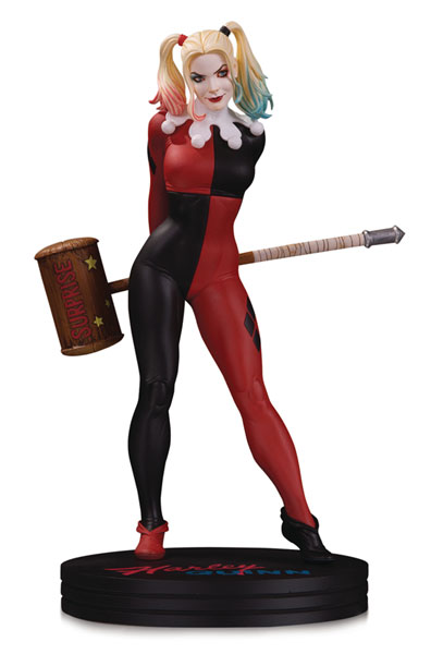 『DCコミックス』スタチュー カバーガールズ ハーレイ・クインBy フランク・チョー[DCコレクティブル]【送料無料】《発売済・在庫品》