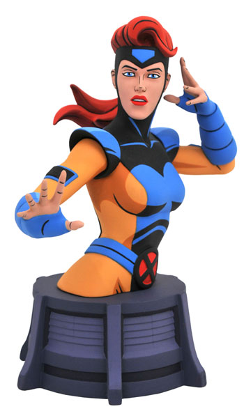 『X-MEN アニメイテッド』 マーベル ミニバスト ジーン・グレイ[ダイアモンドセレクト]《在庫切れ》