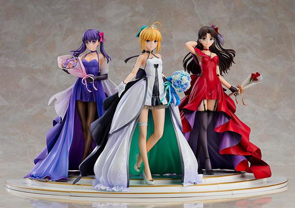 Fate/stay night セイバー 遠坂凛 間桐桜 15th CelebrationDress Premium Box 1/7[グッドスマイルカンパニー]【同梱不可】【送料無料】《11月予約》