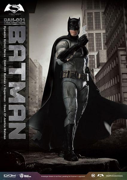 ダイナミック・アクション・ヒーローズ 『バットマン vs スーパーマン ジャスティスの誕生』 バットマン(再販)[ビーストキングダム]《在庫切れ》
