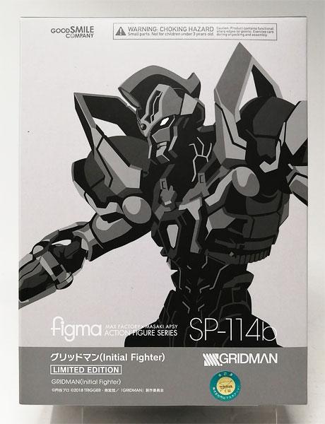 figma SSSS.GRIDMAN グリッドマン (Initial Fighter)(TVアニメ「SSSS.GRIDMAN」BD第3巻 購入者特典販売品)
