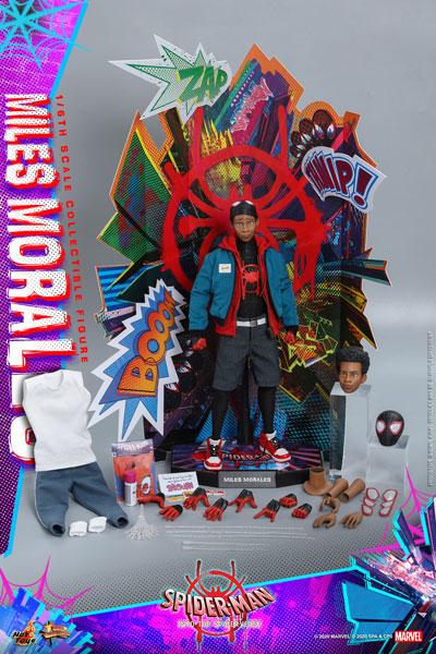 ムービー・マスターピース 『スパイダーマン:スパイダーバース』1/6 フィギュア マイルス・モラレス/スパイダーマン ※延期・前倒し可能性大[ホットトイズ]【同梱不可】【送料無料】《09月仮予約》