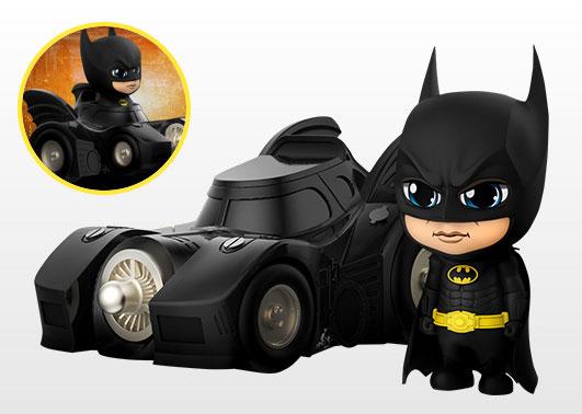 コスベイビー 『バットマン』[サイズS]バットマン&バットモービル[ホットトイズ]《発売済・在庫品》