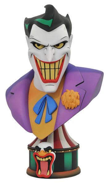 『バットマン アニメイテッド』バスト 3Dレジェンズ ジョーカー[ダイアモンドセレクト]【送料無料】《発売済・在庫品》