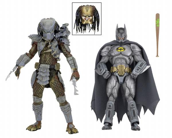 SDCC2019 コミコン限定 DCコミックス/ダークホース/ バットマン vs プレデター 7インチ アクションフィギュア 2PK[ネカ]《在庫切れ》