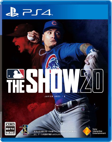 【特典】PS4 MLB The Show 20(英語版)[SIE]《03月予約》