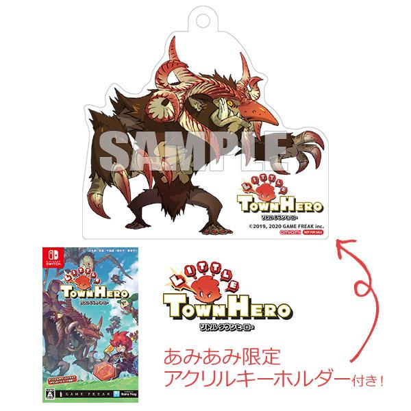【あみあみ限定特典】Nintendo Switch リトルタウンヒーロー[レイニーフロッグ]【送料無料】《04月予約》