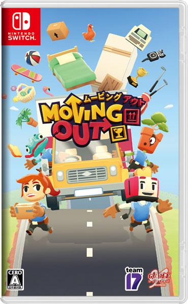 【特典】Nintendo Switch Moving Out[Game Source Entertainment]《在庫切れ》