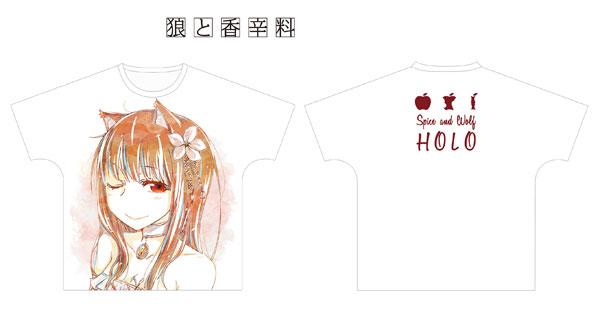 狼と香辛料 ホロ Ani-Art フルグラフィックTシャツ ユニセックス XL(再販)[アルマビアンカ]《09月予約》