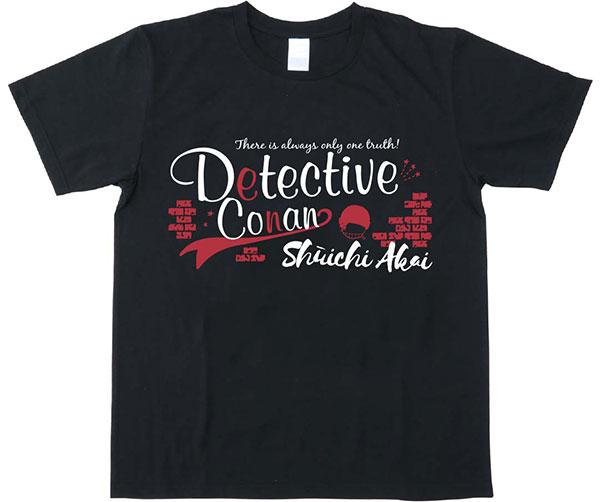 名探偵コナン ボトルTシャツ 赤井秀一 ブラック XS[マックスリミテッド]《在庫切れ》