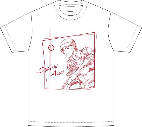 名探偵コナン スケッチシリーズ Tシャツ 赤井秀一(Lサイズ)[ツインクル]《在庫切れ》