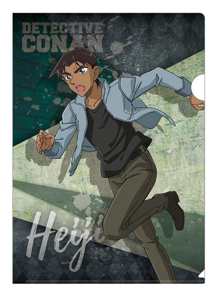 名探偵コナン Chase!(追跡)シリーズ クリアファイル 服部平次[ツインクル]《発売済・在庫品》