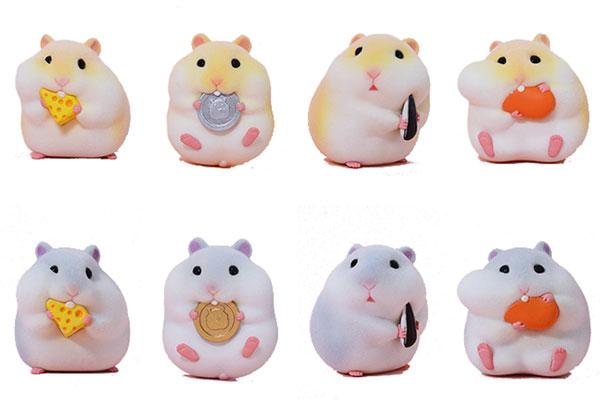 空想造物 食いしん坊ハムスターシリーズ 8個入りBOX[空想造物(KONGZOO)]《02月仮予約》
