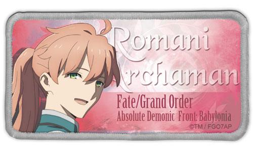 Fate/Grand Order -絶対魔獣戦線バビロニア- ロマニ・アーキマン 脱着式フルカラーワッペン[コスパ]《在庫切れ》