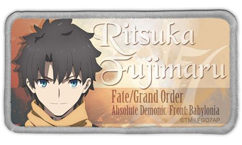 Fate/Grand Order -絶対魔獣戦線バビロニア- 藤丸立香 脱着式フルカラーワッペン(再販)[コスパ]《在庫切れ》
