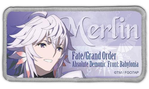 Fate/Grand Order -絶対魔獣戦線バビロニア- マーリン 脱着式フルカラーワッペン[コスパ]《発売済・在庫品》