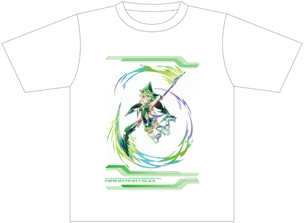 戦姫絶唱シンフォギアXV PALE TONE series Tシャツ 暁切歌[コンテンツシード]《在庫切れ》