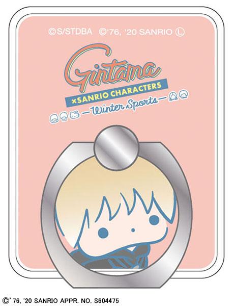 銀魂×Sanrio characters スマートフォンリング 沖田(サンリオコラボ第三弾)[ムービック]《発売済・在庫品》