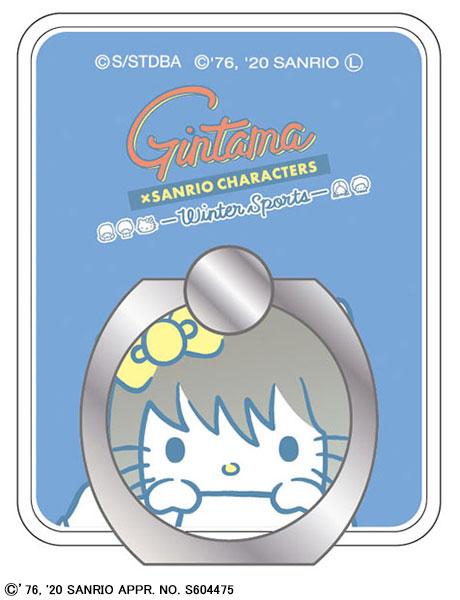 銀魂×Sanrio characters スマートフォンリング 桂(サンリオコラボ第三弾)[ムービック]《発売済・在庫品》