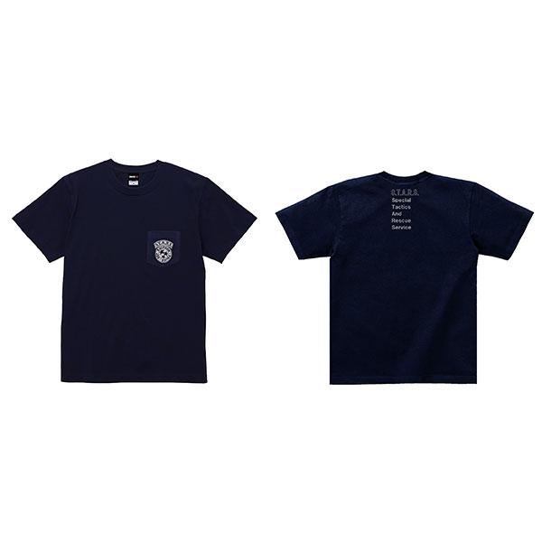 バイオハザード RE:3 Tシャツ S.T.A.R.S. ポケット L[カプコン]《在庫切れ》