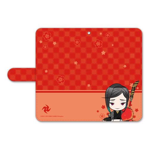刀剣乱舞-ONLINE- ぽてだん! 手帳型モバイルフォンケース(フリーサイズ)72:静形薙刀[プロケット]《在庫切れ》