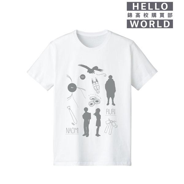 HELLO WORLD ラインアートTシャツ メンズ S[アルマビアンカ]《06月予約》
