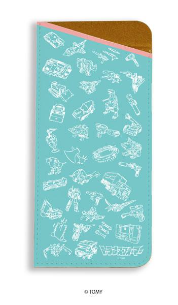 キャラグラスケース「トランスフォーマー」01/モチーフちりばめデザイン(グラフアート)[A3]《在庫切れ》