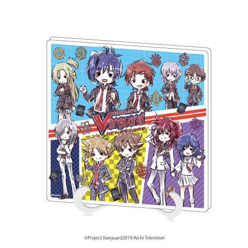 アクリルアートボード「カードファイト!! ヴァンガード」01/コマ割りデザイン(グラフアート)[A3]《在庫切れ》