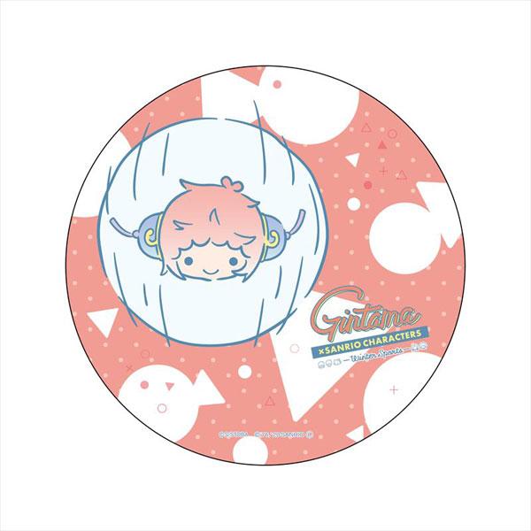 銀魂×Sanrio characters デカンバッチ 神楽[コンテンツシード]《在庫切れ》