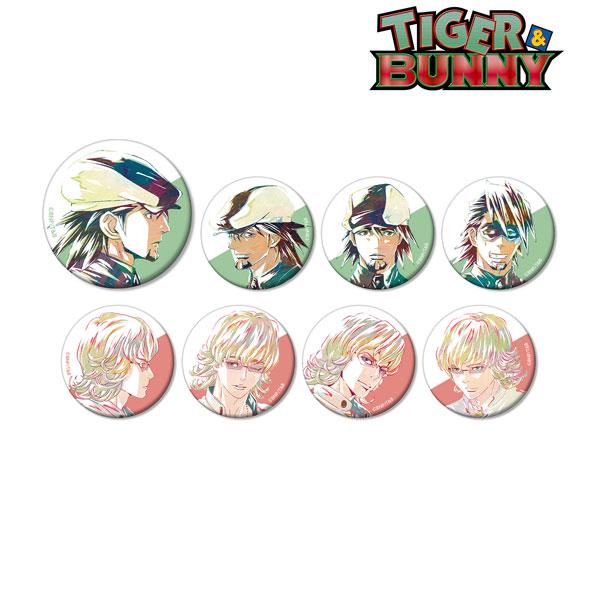 TIGER & BUNNY トレーディング Ani-Art 缶バッジ 8個入りBOX[アルマビアンカ]《06月予約》