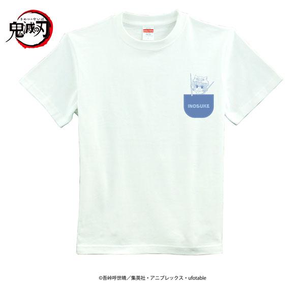 Tシャツ「鬼滅の刃」06/INOSUKE(XLサイズ)(フォトきゃら)[A3]《在庫切れ》