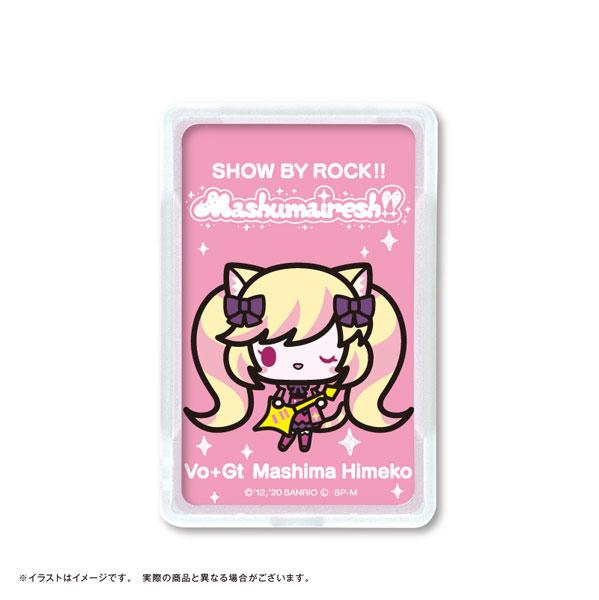 SHOW BY ROCK!! ましゅまいれっしゅ!! ピーカ+ICカードホルダー マシマヒメコ[NPC]《在庫切れ》