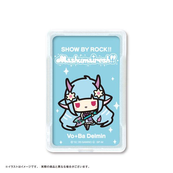 SHOW BY ROCK!! ましゅまいれっしゅ!! ピーカ+ICカードホルダー デルミン[NPC]《在庫切れ》