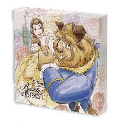 ジグソーパズル キャンバスパズル 美女と野獣 ビューティフル・ローズ 56ピース(2303-19)[やのまん]《在庫切れ》