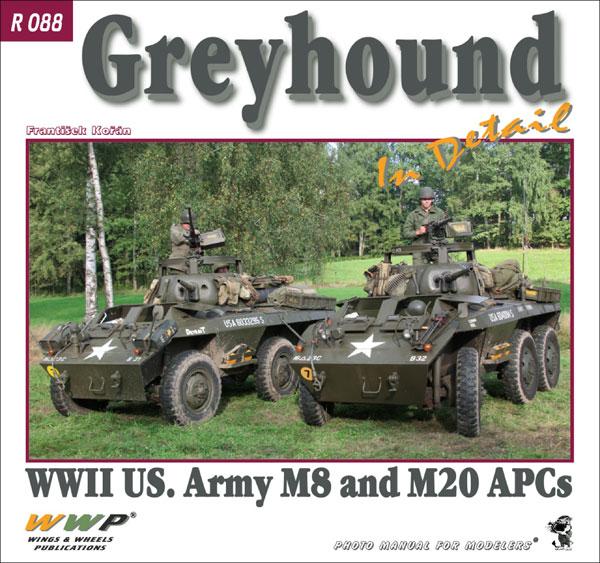 M8/M20 グレイハウンド 装甲車 イン・ディテール (書籍)[WWP]《在庫切れ》