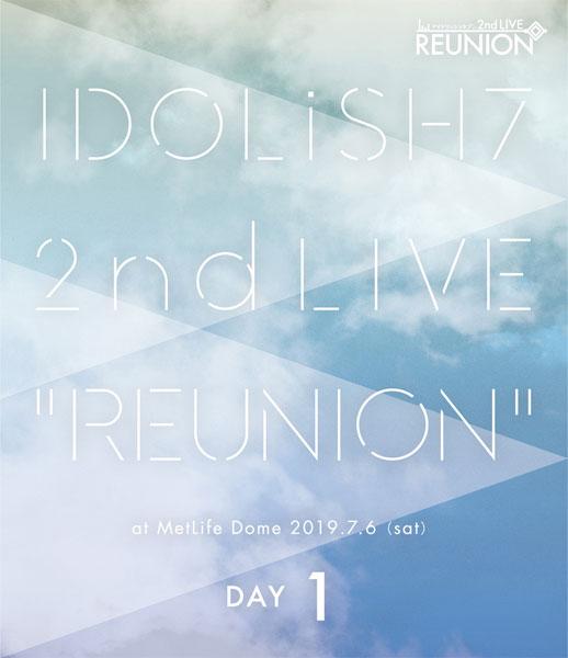 BD アイドリッシュセブン 2nd LIVE「REUNION」Blu-ray DAY 1[ランティス]《在庫切れ》
