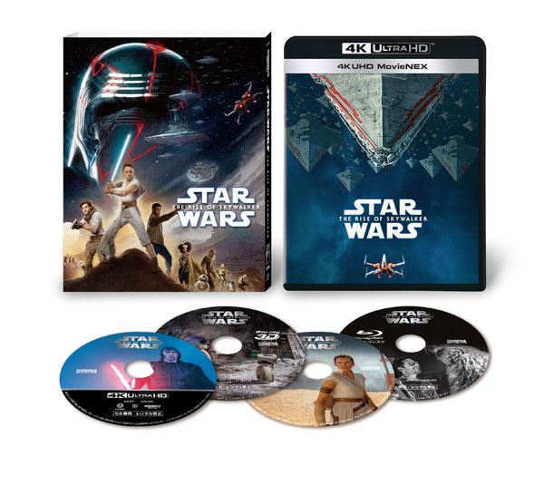 UHD BD スター・ウォーズ/スカイウォーカーの夜明け 4K UHD MovieNEX (Blu-ray Disc)[ウォルト・ディズニー・スタジオ・ジャパン]《在庫切れ》