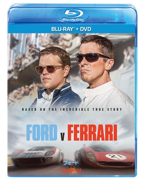 BD フォードvsフェラーリ ブルーレイ+DVDセット (Blu-ray Disc)[ウォルト・ディズニー・スタジオ・ジャパン]《在庫切れ》