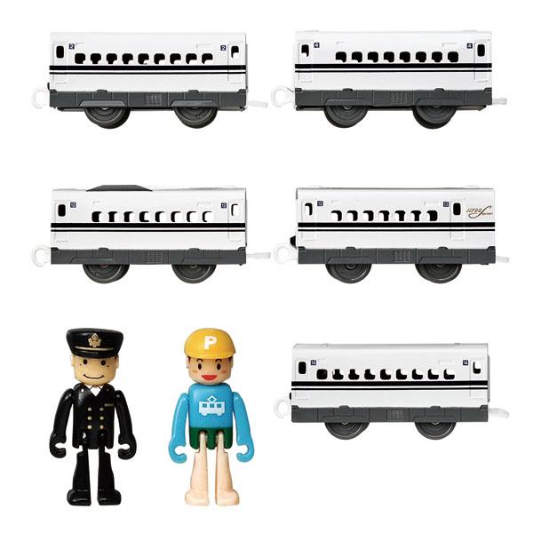 プラレール 長編成で走らせよう!N700S新幹線(確認試験車)中間車セット[タカラトミー]《在庫切れ》