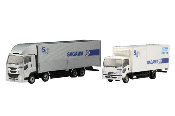ザ・トラックコレクション 佐川急便トラックセット[トミーテック]《発売済・在庫品》