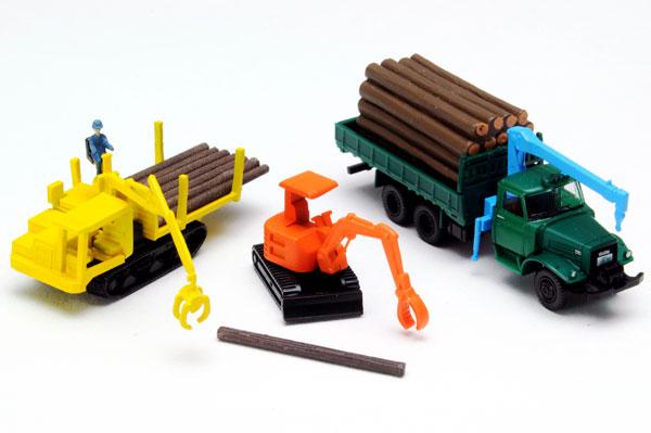 ザ・トラックコレクション 原木運搬セット[トミーテック]《発売済・在庫品》