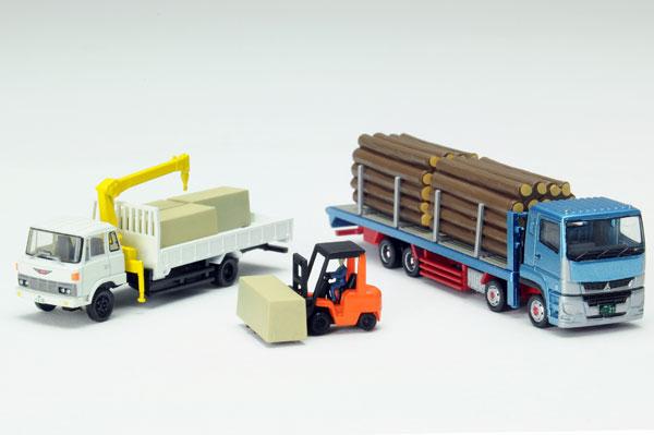 ザ・トラックコレクション 製材所トラックセット[トミーテック]《発売済・在庫品》