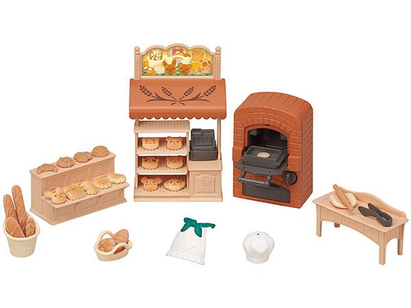 シルバニアファミリー こんがりオーブン!はじめてのパン屋さんセット[エポック]《在庫切れ》