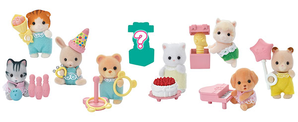 シルバニアファミリー 赤ちゃんコレクション 赤ちゃんパーティーシリーズ 12個入りBOX[エポック]《在庫切れ》