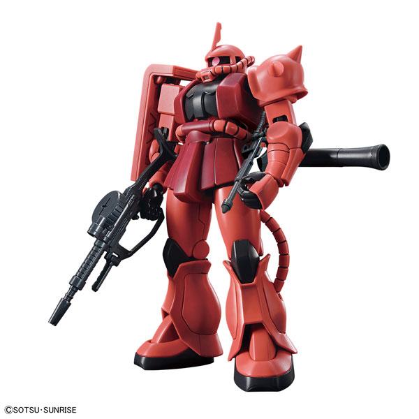 HGUC 1/144 シャア専用ザクII プラモデル 『機動戦士ガンダム』(再販)[BANDAI SPIRITS]《発売済・在庫品》