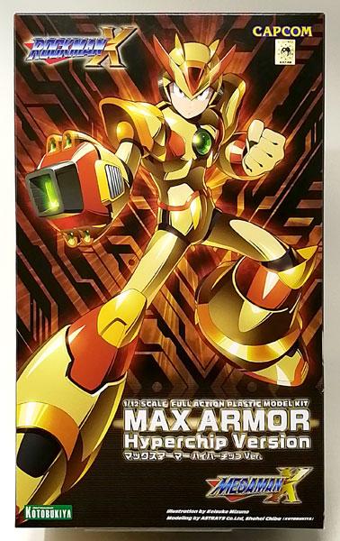 ロックマンX マックスアーマー ハイパーチップVer. 1/12 プラモデル(コトブキヤショップ限定)