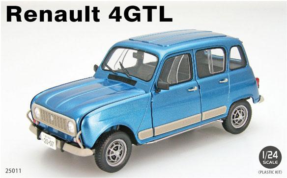 1/24 Renault 4GTL プラモデル[EBBRO]《在庫切れ》