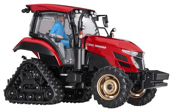 1/35 ヤンマー トラクター YT5113A デルタクローラ仕様 プラモデル[ハセガワ]《03月予約》